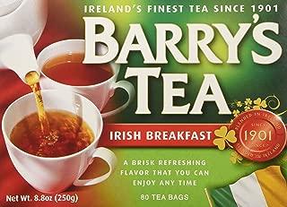 Barry's Tea Irish Breakfast Teabags (80) - Pack of 2