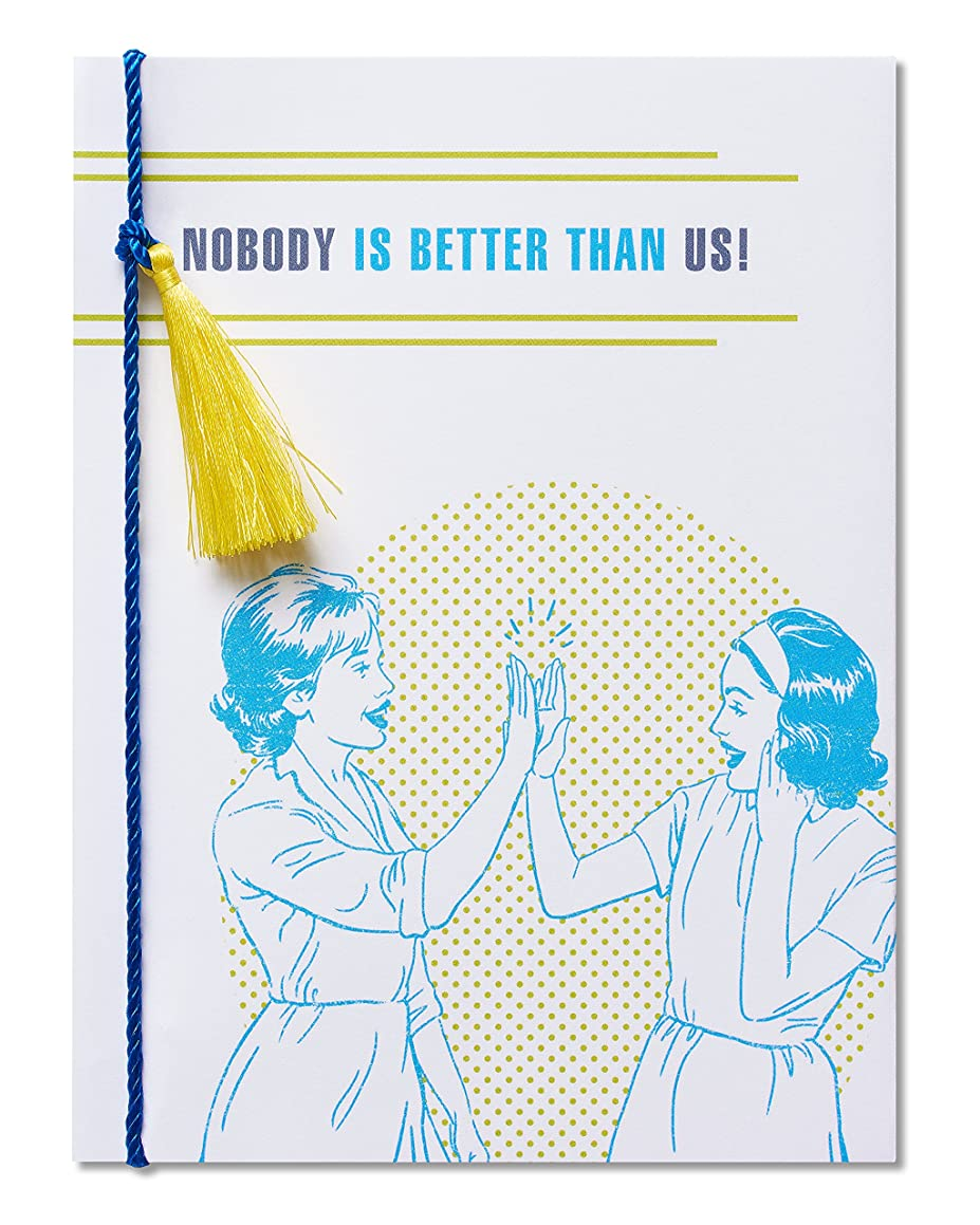 American Greetings Funny Nobody Better Thinking of You Card with Cord - 5856781