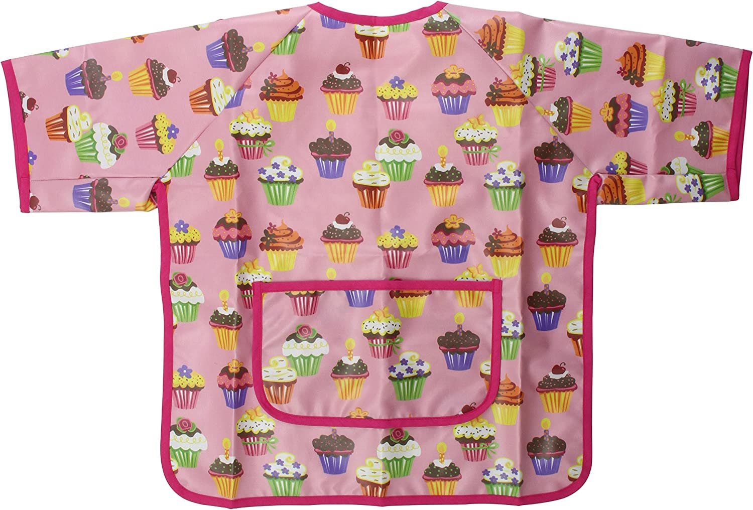 AM PM Kids  Paint Smock, Cupcakes