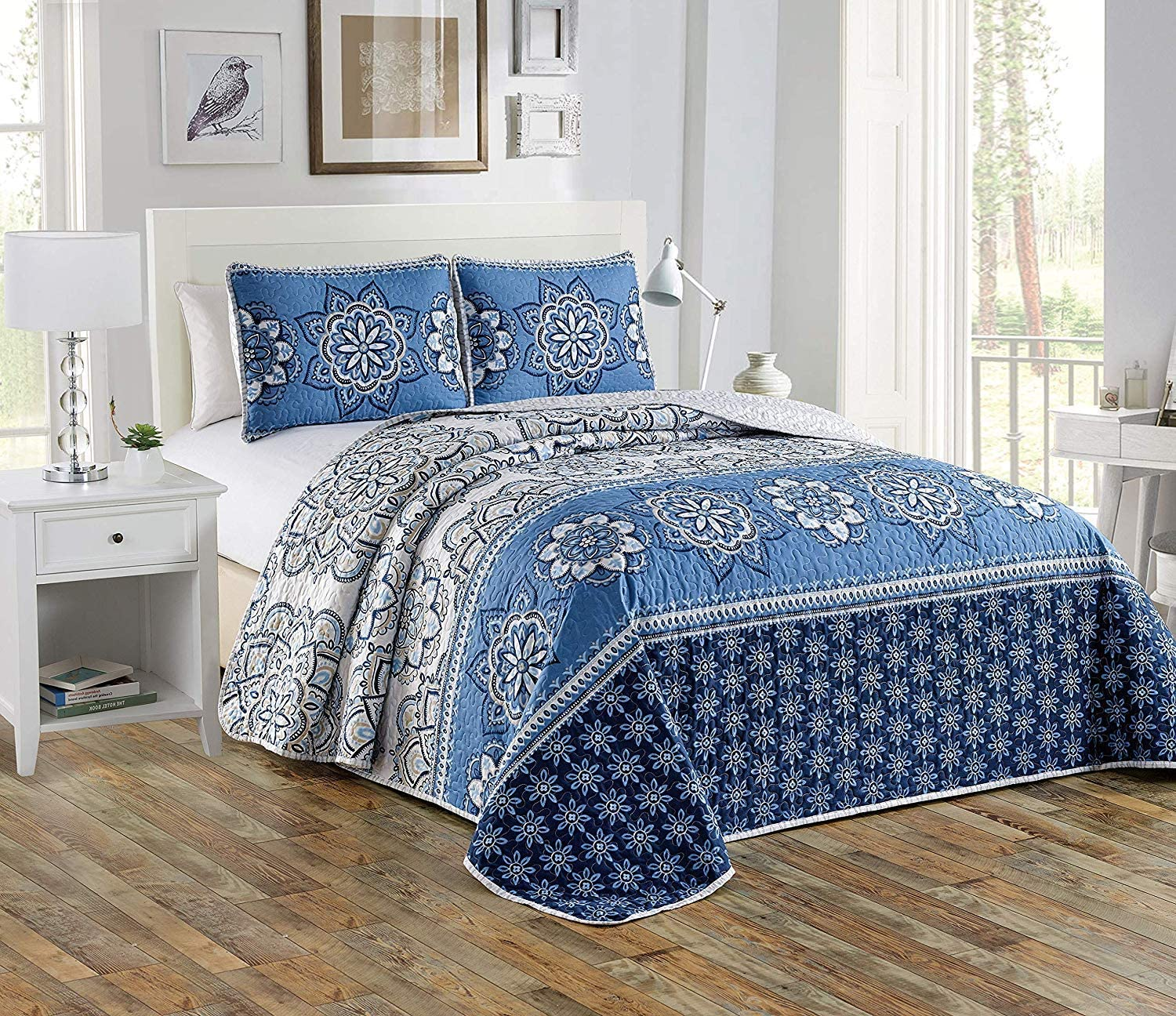 Luxury Home Collection 2 El Free shipping anywhere in the nation Paso Mall Piece XL Twin Oversize Rev Quilted