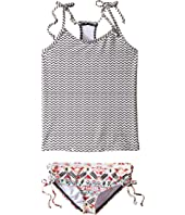 Billabong Kids - Gee Gee Geo Tankini Set (Little Kids/Big Kids)