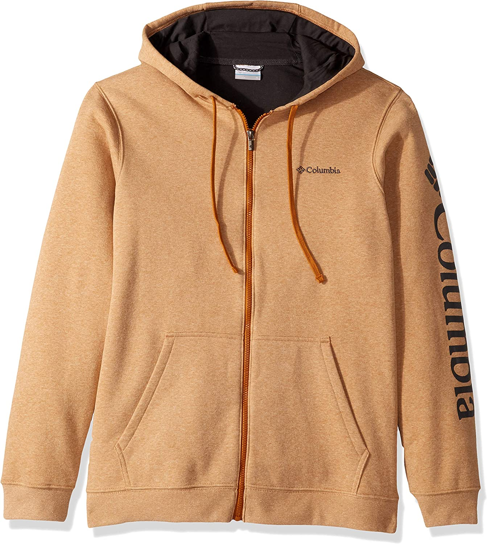 Columbia Men's Hart Mountain Graphic Full Zip, Soft Jacket