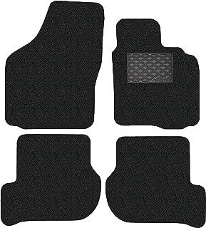 Nicoman Spaghetti All-Weather Fully Tailored Car mats Fit【2009-2013 Golf MK6 Hatchback/Estate】(Full Set 4-Piece,Black)