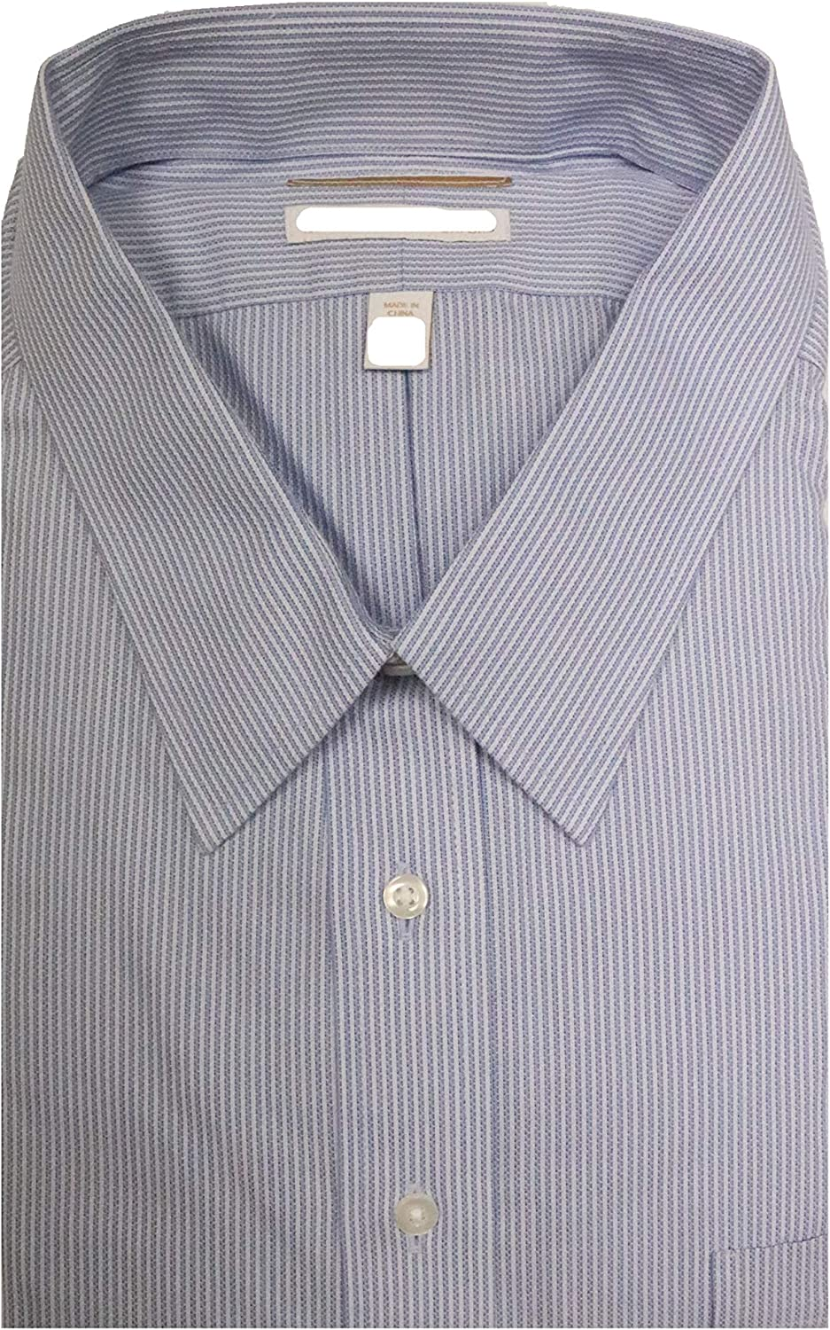 Gold Label Roundtree & Yorke Big and Tall Non-Iron Regular Full-Fit Point Collar Dress Shirt S75DG124