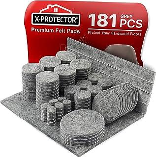 Meubilair Pads Vloerbeschermers X-PROTECTOR 181 PCS - Vilten Pads voor Stoelpoten - Premium Meubilair Vilten Pads voor Meu...