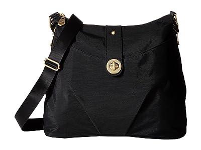 Baggallini Gold Helsinki Bag (Black) Handbags