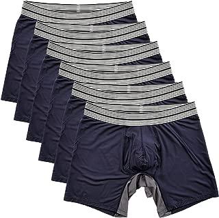 Mr. Davis Men's Standard Cut Boxer Brief Underwear - 6 Pack