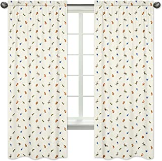 Sweet Jojo Designs 2-Piece Jungle Time Collection Window Treatment Panels