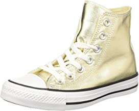 Best metallic gold converse high tops Reviews
