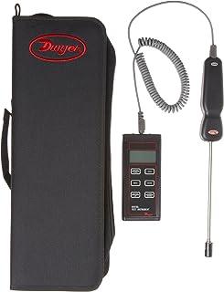 "Dwyer Digital Thermo-Hygrometer, 8"" Probe Length"