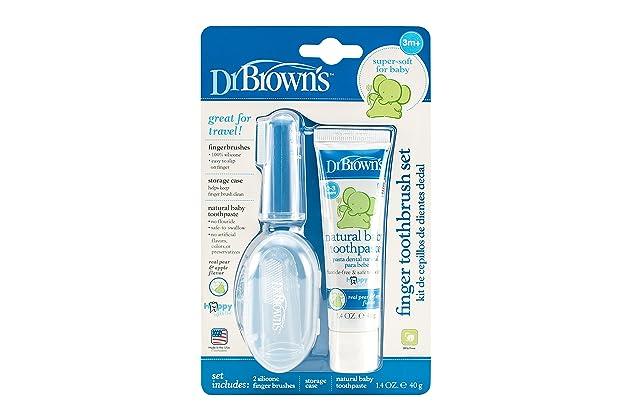 Dr. Browns Finger Toothbrush Set