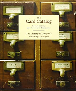 The Card Catalog: Books, Cards, and Literary Treasures (Gifts for Book Lovers, Gifts for Librarians, Book Club Gift)