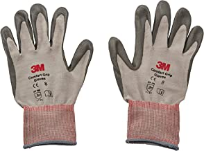 3M Comfort Grip Glove CGL-GU, General Use, Size L, foamed nitrile palm provides excellent grip, even in wet or oily condit...