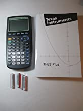Texas Instruments TI-83 Plus Graphing Calculator and TI-83 User's Manual