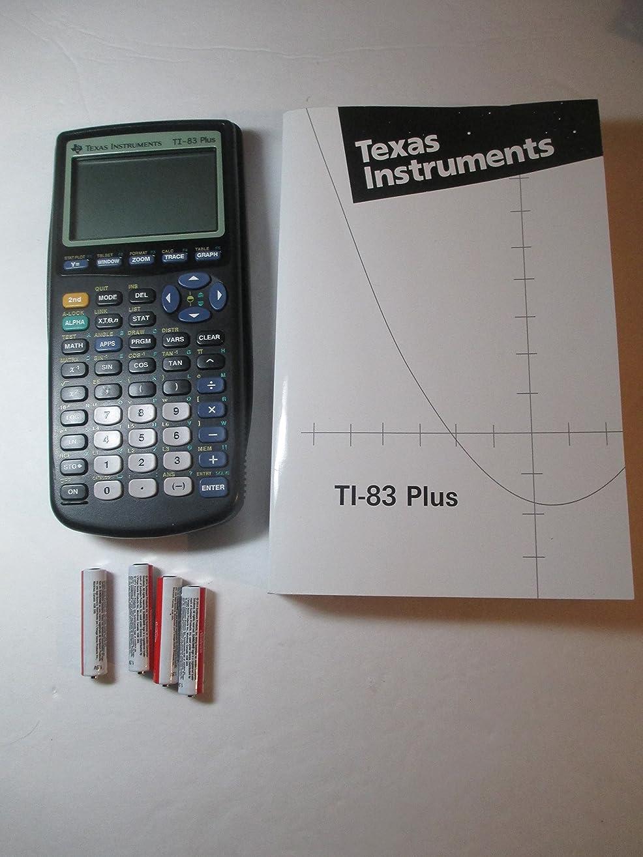 代替飛行機欠員Texas Instruments TI - 83?Graphing Calculatorとti-83ユーザーの手動