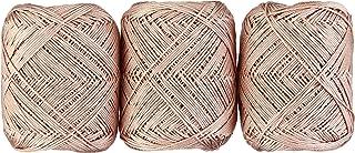 オリムパス製絲 エミーグランデ ハーブス レース糸 合細 col.141 ピンク 系 20g 約88m 3玉セット