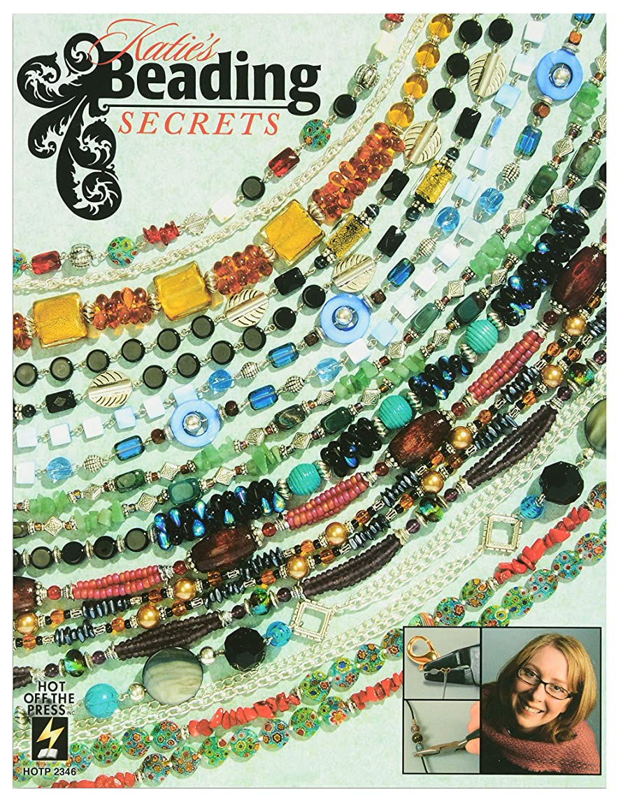 Crafting Books by Hot Off The Press | Over 100 Beautiful Jewelry Pieces to Create with Beads (Katie's Beading Secrets)