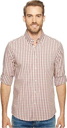 Long Sleeve Iridescent Check Shirt