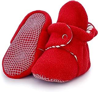 red heart baby booties