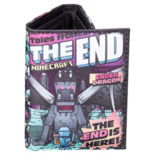 Minecraft Tales from the End Tri-Fold Wallet
