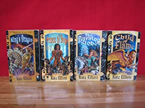 Crown of Stars Series Set of 4, Volumes 1-4 (King's Dragon (Crown of Stars, Vol. 1), Prince of Dogs (Crown of Stars, Vol. 2), The Burning Stone (Crown of Stars, Vol. 3), Child of Flame (Crown of Stars, Vol. 4))
