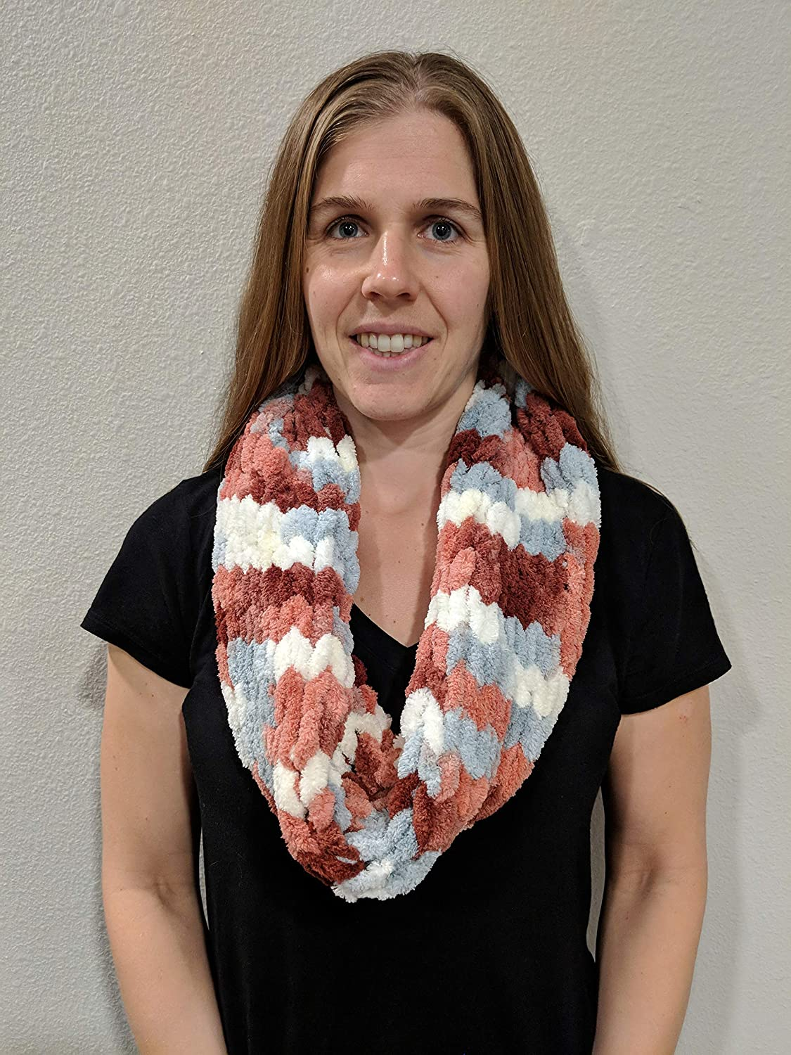 Hand Excellence Max 76% OFF Knit Cowl Infinity Neck Scarf