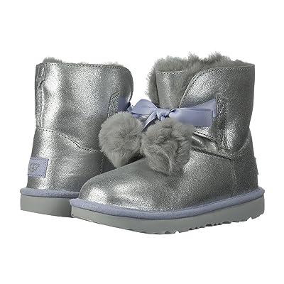 UGG Kids Gita Metallic (Little Kid/Big Kid) (Silver) Girls Shoes