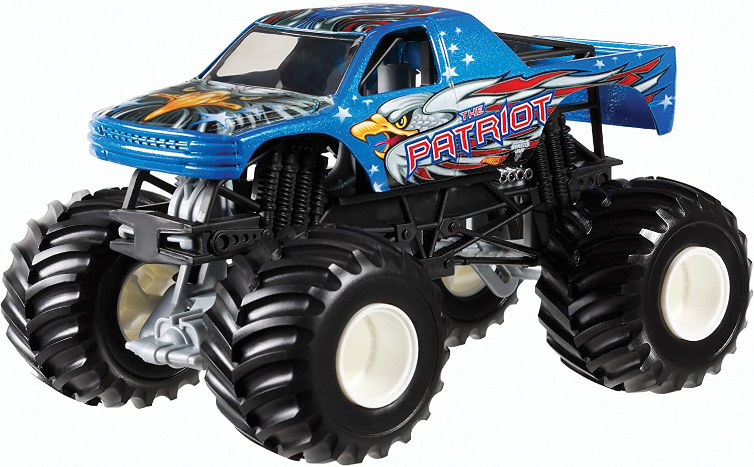 Hot Wheels Monster Jam The Patriot DieCast Vehicle, 1 1 1 24