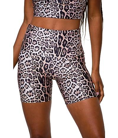Onzie 5 Bike Shorts (Leopard) Women