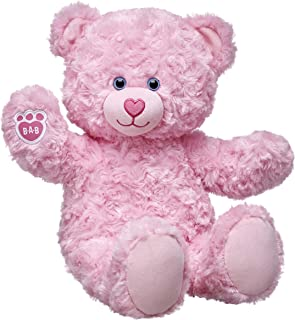 Build-A-Bear Workshop  Pink Cuddles Teddy Plush, Pink