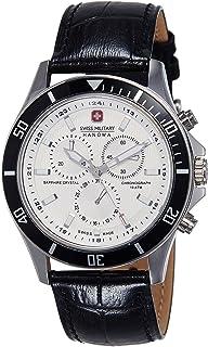 Swiss Military Hanowa - Reloj Analógico para Hombre de Cuarzo con Correa en Cuero 06-4183.7.04.001.07