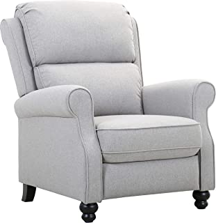 Amazon Brand – Ravenna Home Push-Back Recliner Living Room Chair, 33.9