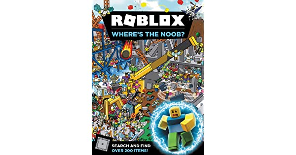 Roblox Find The Noobs Roblox Where S The Noob Official Roblox Books Harpercollins Amazon Sg Books