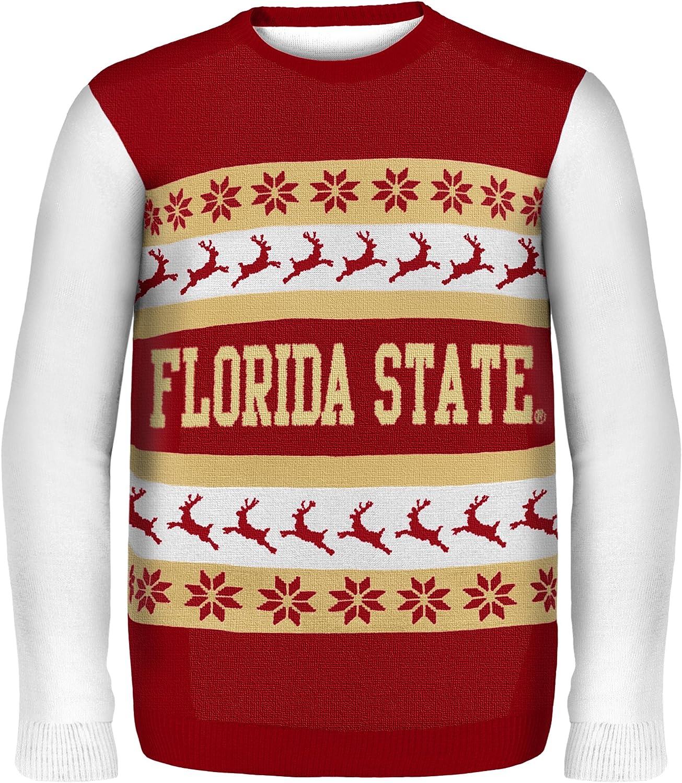 opciones a bajo precio NCAA Florida State State State Wordmark Ugly Sweater X-Large  diseños exclusivos