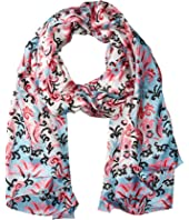 Kate Spade New York Tapestry Silk Oblong Scarf