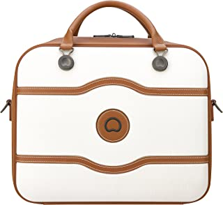 Delsey Paris Chatelet Air Cabin 48H Tote Bag Carry-On (Softside), Angora (00167241015)