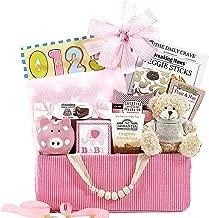 Bundle of Joy Pink Newborn Baby Girl Gift Basket Congratulations Baby Shower Gift Welcome Home