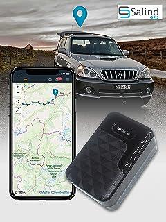 SALIND GPS Tracker Auto, Motorrad, Fahrzeuge und LKW´s mit Magnet, etwa 20 Tage Akkulaufzeit (bis zu 60 Tage im Standby Modus)