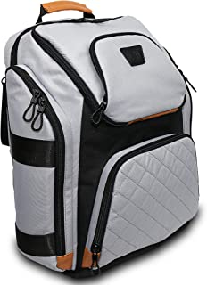 Diaper Backpack by Giggleplum-Baby Travel Bag for Mom & Dad-Large Multifunction Diaper Bag-Baby Shower idea-Stroller Straps & Changing Pad included-Stylish Unisex Design-Gray