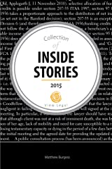 Collection of Inside Stories 2015 Kindle Edition