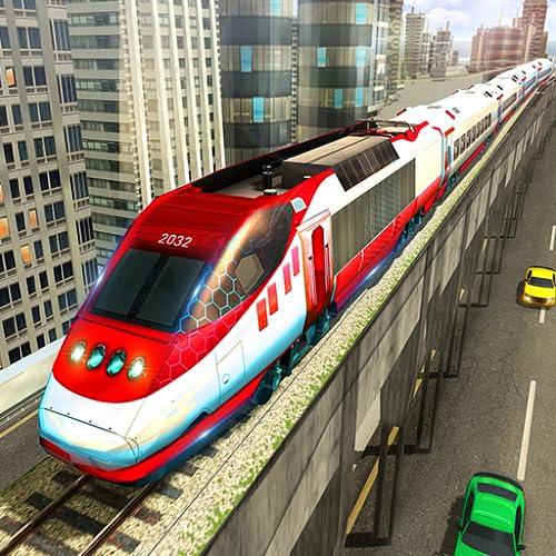 simulador de aventura de conducción en tren urbano