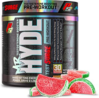 ProSupps Mr. Hyde Test Surge Pre Workout for Men and Women - High Stim Pre Workout Powder Drink with Testosterone Support ...