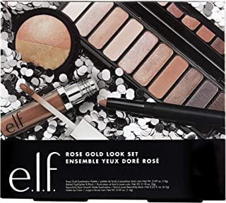 e.l.f. Rose Gold Look Holiday Set, 0.05 Ounce