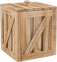 Artland 22112 Mixology Ice Bucket Storage, Medium, Wood