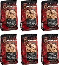 Walkers Shortbread Mini Chocolate Chip Shortbread Cookies, 4.4 Ounce Bag (Pack of 6)