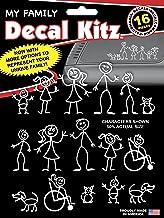 Chroma 5309 Stick People Decal Kit, 16 piece