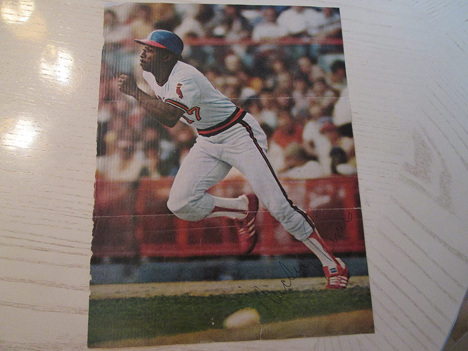 MICKEY RIVERS Regular Easy-to-use discount Signed Page Magazine Photo