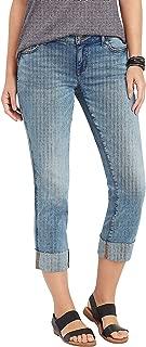 maurices Women's Denimflex TM Slim Straight Crop Jean