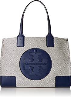 Women's Ella Canvas Tote Navy Handbag Mini