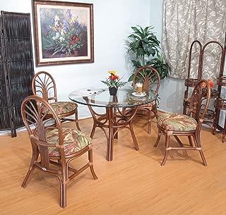 Premium Rattan Dining Furniture 5 Piece Set (#2401AW-PJ)